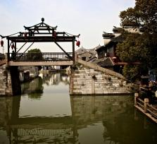 Famous ancient water town Tongli