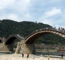 Iwakuni Kintai Bridge and Miyajima Full Day Tour