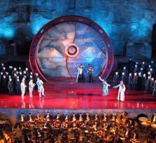 Antalya city  / Belek: Opera and Ballet Festival at Aspendos