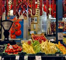 Explore the Great Market Hall of Budapest (by car)