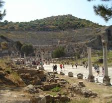 Christian steps in Ephesus