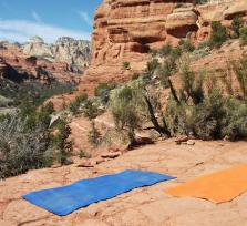 Vortex Yoga Hiking In Sedona