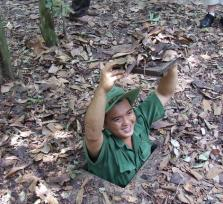 Pilgrimage trip to Tay Ninh Holysee-Cu Chi Tunnels