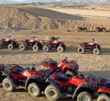 Desert Safari by Quad Runner sun rise trip