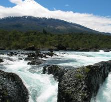 Osorno volcano & Petrohue Falls, Llanquihue & Todos los Santos Lakes
