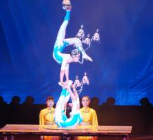 Chinese acrobatic & Shanghai Evening Tour