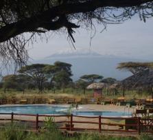 Meet me to experience a Kilimanjaro Backdrop