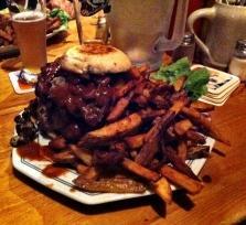 Burger und Steaks