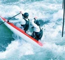 Actionreiches Mini-Rafting