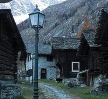 Guided excursions: Macugnaga in the Italian Alps at the foot of Mount Rosa