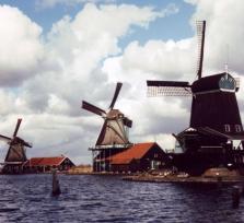 Amsterdam & windmills