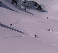 Ski touring in the highest Bulgarian mountains