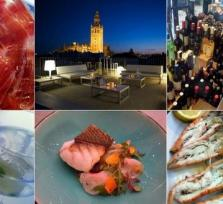 Gourmet shopping tour in Sevilla!