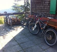 Mountainbiken an der Isar