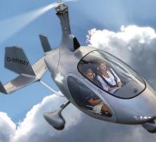 Entdecke die Welt im Gyrocopter