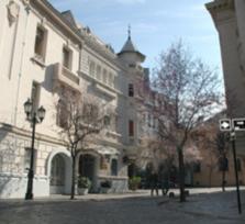Walking City Tour in Santiago