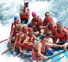 Full Day Rafting at National Park & Canyon from all Antalya