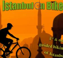See Istanbul on bikes with us!