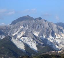 Carrara marble quarries - On Michelangelo's footsteps
