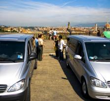 Van with a view - The hills of Florence -