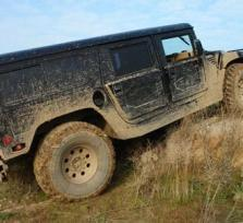 Hummer Rallye Training