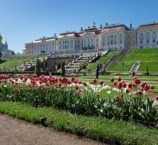 Peterhof Park and Grand Palace