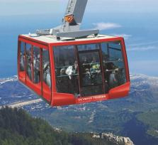 Olympos Cable Car to Tahtali Mountains in Antalya!
