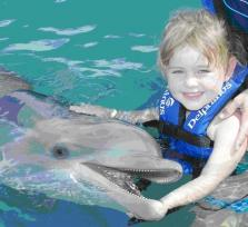 Swim with me and the dolphins!