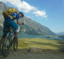 Let's meet up to mountain-bike the Alps!