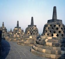 Yogyakarta City and Borobudur temple