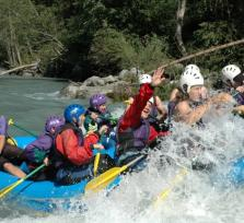 Rafting Halfday trip Vorderrhein, Switzerland